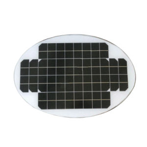 Oval Shape 20V 20W Solar Panel pictures & photos