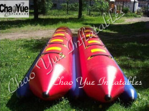 Dual Tube Inflatable Fishing Banana Boat for Water Sports (CYBT-1512) pictures & photos