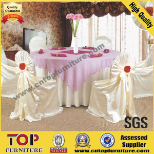 Classy Polyester Banquet Chair Covers for Wedding pictures & photos