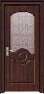 Office Wood Door with Glass (WX-PW-178)