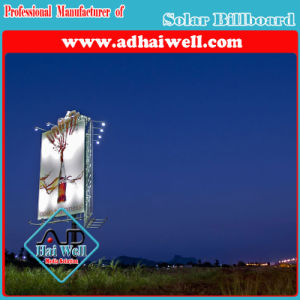 LED Spot Lighting Solar System for Adverbillboard Billboard Structure pictures & photos