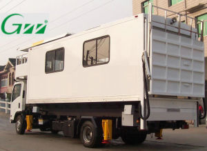 Airport Aircraft Ambulift Truck for Sick People pictures & photos