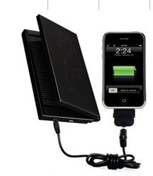 Luxirious& Multifunctional Solar Charger for iPhone (STC-05)