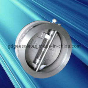 Butterfly Wafer Type Double Disc Swing Check Valve