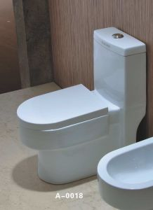 Siphonic One-Piece Toilet (A-0018)