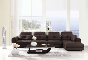 Cow Leathr Sofa (9818)