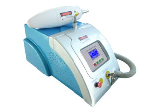 Portable Q Switch ND YAG Laser Tattoo Removal Beauty Machine