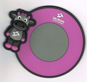 Promotional 3D Custom Silicone Coaster (AS-LS-0314004) pictures & photos