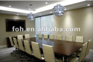 Wooden Modern Conference Table and Chairs/Meeting Table and Chairs