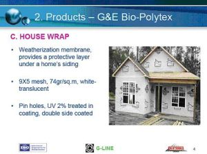 China House Wrap - China House Wrap, Construction Sheet