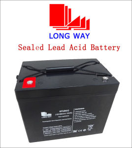 12V 80ah Emergency Light Rechargeable UPS Sealed Lead Acid Battery pictures & photos