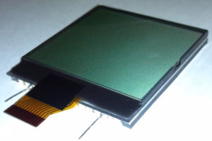 Tn Positive Cog LCD Module with Flexible FPC Tape