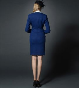 Made to Measure Fashion Stylish Office Lady Formal Suit Slim Fit Pencil Pants Pencil Skirt Suit L51640 pictures & photos