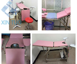 Electric Medical Examination Table/Exam Table/Therapy Treatment Table pictures & photos