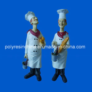 Resin Chef Sculpture of Home Decor pictures & photos
