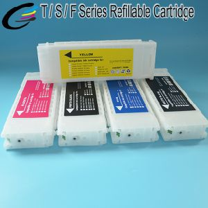 700ml Inkjet Printer Cartridge for Epson Surecolor T3000 T5000 T7000 Refillable Cartridge T6941 - T6945 with Arc Chip
