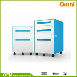 Mobile Pedestal Cabinet; Two Drawers/Three Drawers Steel Storage (OM-YC-01) pictures & photos