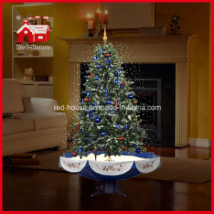 high quality holiday decoration artificial snowing christmas tree