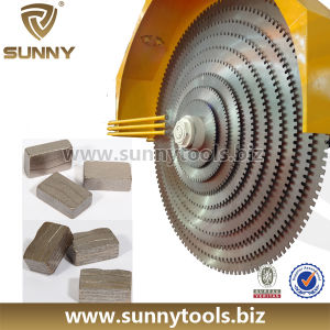 Diamond Segment for Granite/ Sandstone/ Travertine Stone Blade (SY-SB-267) pictures & photos