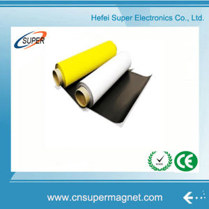 Flexible A4 3m Rubber Magnetic Sheet/ Self Adhesive Magnet Sheet pictures & photos