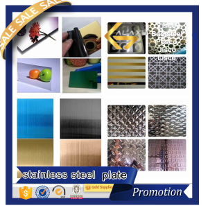 Color Decorativive Stainless Steel Sheet (304 304L 316 316L 201 430)
