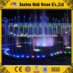 Large Outdoor Water Fountains LED Fountain Nozzle Light