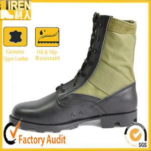 Olive Color Army Jungle Boots pictures & photos