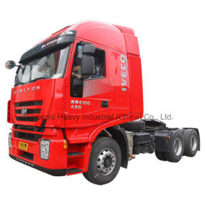 430HP 6X4 C100 Hongyan Iveco Genlyon Tractor Truck for Iveco Technology pictures & photos