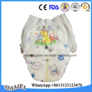 Breathable Soft Disposable Baby Diapers with Elastic Waist pictures & photos
