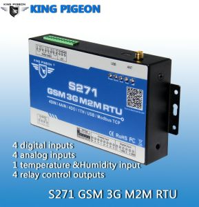GSM SMS Controller for Communication Basic Station Power and Environment Remote Control Monitoring System
