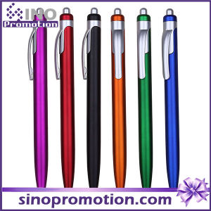Frosted Colorful Plastic Ball Pen Click Advertising Ball Pen