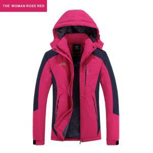 901bbe33f1 Custom Woman Famale Outdoor Travelling Wear Ski Soft Shell Winter Jacket