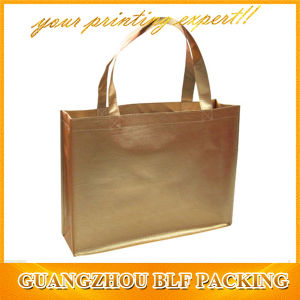 Golden Laminated Wholesale Gift Bags (BLF-NW243) pictures & photos