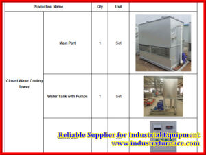 Closed Water Cooling Tower for Induction Furnace pictures & photos