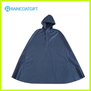 Navy Lightweight Soft EVA Rain Poncho pictures & photos