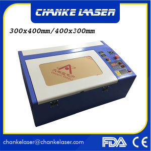 40W CO2 Laser Engraver Cutter Machine for Rubber Stamp pictures & photos