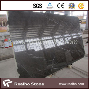 Top Polished Veins Bulgaria Grey Marble Slab