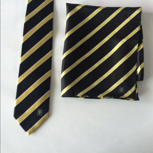 Stripe Design Corporate Silk Neckties with Scarves pictures & photos
