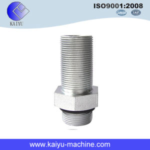 Hydraulic Pipe Fitting/ Straingt Thread Connector/ Male Adapter pictures & photos