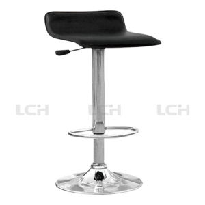 PU Upholtery Stainless Steel Rotary Bar Chair