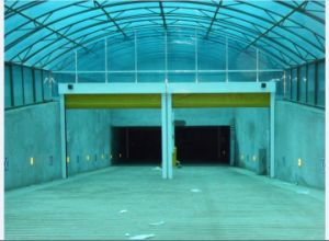 High Speed Automatic Industrial Integral Auto Garage Door pictures & photos