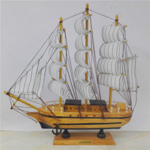 New Product 30 Cm Wooden Ship pictures & photos