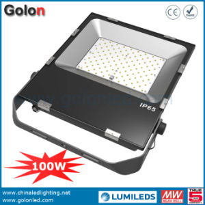 100W LED Flood Light with Philipssmd 5 Years Warranty Outdoor LED Flood Light 100W 150W 200W Ultra Slim Design 100W Flood Light pictures & photos