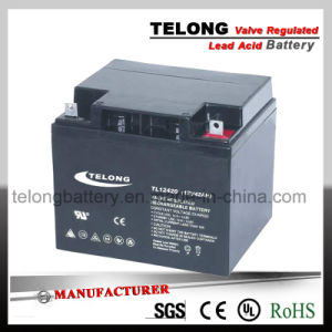 Deep Cycle Lead Acid Solar Power Battery (12V42AH) pictures & photos