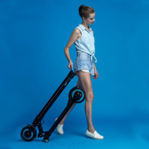 2016 Two Wheels Electric Stand up Mobility Scooter for Work or Outdoor Travel
