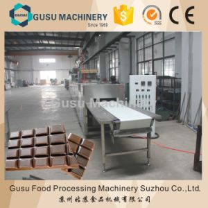 ISO9001 Gusu Pure Chocolate Bar Casting Machine (QJJ175) pictures & photos