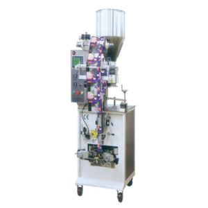 Automatic Puffed Food Snack Sugar Salt Triangle Bag Food Packing Machine (HFT-2420V)