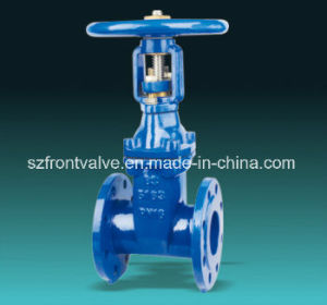 DIN F5 Rising Stem Resilient Seated Ductile Iron Gate Valve pictures & photos