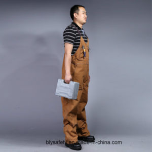Mens Heavy Twill Builders Work Dungarees Bib and Brace Overall Trousers (BLY4002) pictures & photos