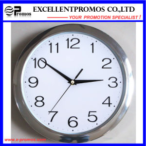29cm Diameter Logo Printing Round Plastic Wall Clock (EP-Item11) pictures & photos